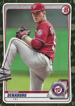Load image into Gallery viewer, 2020 Bowman Baseball Cards - Prospects CAMO PARALLEL (1-100): #BP-24 Mason Denaburg