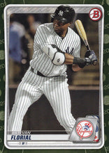 Load image into Gallery viewer, 2020 Bowman Baseball Cards - Prospects CAMO PARALLEL (1-100): #BP-31 Estevan Florial