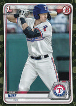 Load image into Gallery viewer, 2020 Bowman Baseball Cards - Prospects CAMO PARALLEL (1-100): #BP-33 Sam Huff