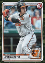 Load image into Gallery viewer, 2020 Bowman Baseball Cards - Prospects CAMO PARALLEL (1-100): #BP-36 Ryan Mountcastle