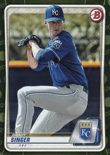 Load image into Gallery viewer, 2020 Bowman Baseball Cards - Prospects CAMO PARALLEL (1-100): #BP-42 Brady Singer