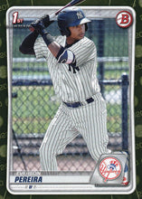 Load image into Gallery viewer, 2020 Bowman Baseball Cards - Prospects CAMO PARALLEL (1-100): #BP-51 Everson Pereira