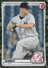 Load image into Gallery viewer, 2020 Bowman Baseball Cards - Prospects CAMO PARALLEL (1-100): #BP-53 Clarke Schmidt