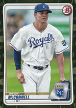 Load image into Gallery viewer, 2020 Bowman Baseball Cards - Prospects CAMO PARALLEL (1-100): #BP-54 Brady McConnell
