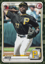 Load image into Gallery viewer, 2020 Bowman Baseball Cards - Prospects CAMO PARALLEL (1-100): #BP-67 Ke'Bryan Hayes