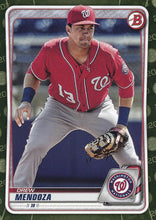 Load image into Gallery viewer, 2020 Bowman Baseball Cards - Prospects CAMO PARALLEL (1-100): #BP-71 Drew Mendoza