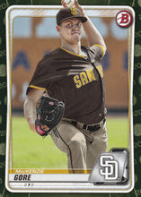 Load image into Gallery viewer, 2020 Bowman Baseball Cards - Prospects CAMO PARALLEL (1-100): #BP-74 MacKenzie Gore