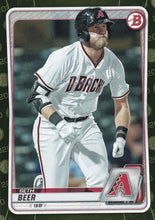 Load image into Gallery viewer, 2020 Bowman Baseball Cards - Prospects CAMO PARALLEL (1-100): #BP-75 Seth Beer