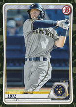 Load image into Gallery viewer, 2020 Bowman Baseball Cards - Prospects CAMO PARALLEL (1-100): #BP-81 Tristen Lutz