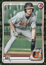 Load image into Gallery viewer, 2020 Bowman Baseball Cards - Prospects CAMO PARALLEL (1-100): #BP-90 Adam Hall
