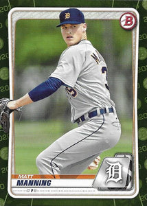 2020 Bowman Baseball Cards - Prospects CAMO PARALLEL (1-100) ~ Pick your card