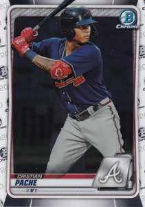 2020 Bowman Baseball Cards - Chrome Prospects (1-100) ~ Pick your card