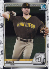 Load image into Gallery viewer, 2020 Bowman Baseball Cards - Chrome Prospects (101-150): #BCP-102 Owen Miller