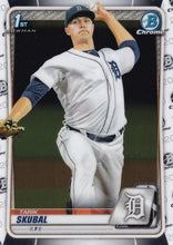 Load image into Gallery viewer, 2020 Bowman Baseball Cards - Chrome Prospects (101-150): #BCP-108 Tarik Skubal