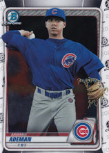 Load image into Gallery viewer, 2020 Bowman Baseball Cards - Chrome Prospects (101-150): #BCP-110 Aramis Ademan