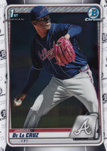 Load image into Gallery viewer, 2020 Bowman Baseball Cards - Chrome Prospects (101-150): #BCP-115 Jasseel De La Cruz