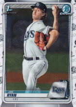 Load image into Gallery viewer, 2020 Bowman Baseball Cards - Chrome Prospects (101-150): #BCP-117 Joe Ryan