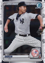 Load image into Gallery viewer, 2020 Bowman Baseball Cards - Chrome Prospects (101-150): #BCP-125 Deivi Garcia