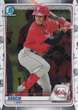 Load image into Gallery viewer, 2020 Bowman Baseball Cards - Chrome Prospects (101-150): #BCP-126 Luis Garcia