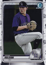 Load image into Gallery viewer, 2020 Bowman Baseball Cards - Chrome Prospects (101-150): #BCP-137 Ryan Rolison