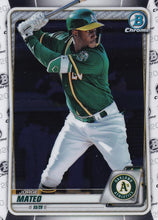 Load image into Gallery viewer, 2020 Bowman Baseball Cards - Chrome Prospects (101-150): #BCP-138 Jorge Mateo
