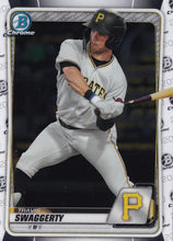 Load image into Gallery viewer, 2020 Bowman Baseball Cards - Chrome Prospects (101-150): #BCP-146 Travis Swaggerty