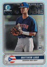 Load image into Gallery viewer, 2020 Bowman - Spanning the Globe Chrome Refractor Insert ~ Pick your card