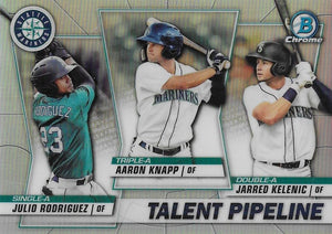 2020 Bowman - Talent Pipeline Trios Chrome Refractor Insert ~ Pick your card