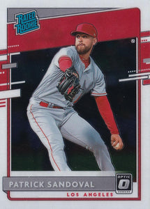 2020 Donruss Optic Baseball Base Cards #1-100 ~ Pick your card
