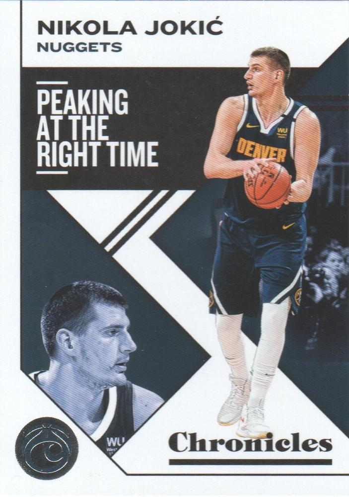 2019-20 Panini Chronicles Basketball Cards #1-100: #1 Nikola Jokic  - Denver Nuggets