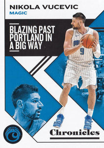 2019-20 Panini Chronicles Basketball Cards #1-100: #7 Nikola Vucevic  - Orlando Magic