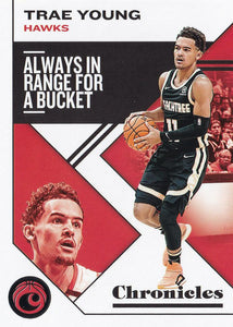 2019-20 Panini Chronicles Basketball Cards #1-100: #12 Trae Young  - Atlanta Hawks
