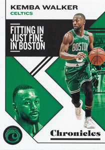 2019-20 Panini Chronicles Basketball Cards #1-100: #14 Kemba Walker  - Boston Celtics