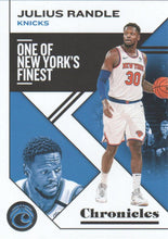 Load image into Gallery viewer, 2019-20 Panini Chronicles Basketball Cards #1-100: #19 Julius Randle  - New York Knicks