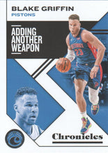 Load image into Gallery viewer, 2019-20 Panini Chronicles Basketball Cards #1-100: #20 Blake Griffin  - Detroit Pistons
