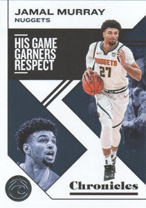 2019-20 Panini Chronicles Basketball Cards #1-100: #24 Jamal Murray  - Denver Nuggets