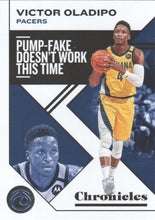 Load image into Gallery viewer, 2019-20 Panini Chronicles Basketball Cards #1-100: #25 Victor Oladipo  - Indiana Pacers