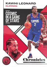 Load image into Gallery viewer, 2019-20 Panini Chronicles Basketball Cards #1-100: #27 Kawhi Leonard  - Los Angeles Clippers