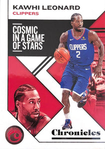 2019-20 Panini Chronicles Basketball Cards #1-100: #27 Kawhi Leonard  - Los Angeles Clippers