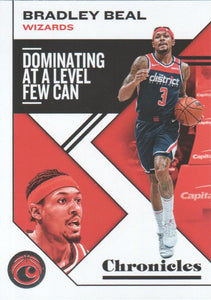 2019-20 Panini Chronicles Basketball Cards #1-100: #30 Bradley Beal  - Washington Wizards