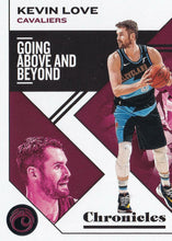 Load image into Gallery viewer, 2019-20 Panini Chronicles Basketball Cards #1-100: #36 Kevin Love  - Cleveland Cavaliers