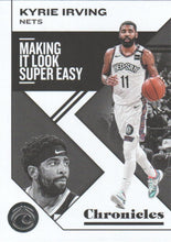 Load image into Gallery viewer, 2019-20 Panini Chronicles Basketball Cards #1-100: #44 Kyrie Irving  - Brooklyn Nets