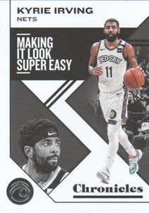 2019-20 Panini Chronicles Basketball Cards #1-100: #44 Kyrie Irving  - Brooklyn Nets