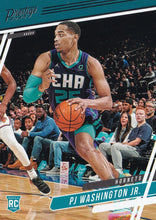Load image into Gallery viewer, 2019-20 Panini Chronicles Basketball Cards #1-100: #52 PJ Washington Jr. RC - Charlotte Hornets