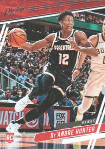 2019-20 Panini Chronicles Basketball Cards #1-100: #54 De'Andre Hunter RC - Atlanta Hawks