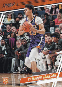 2019-20 Panini Chronicles Basketball Cards #1-100: #55 Cameron Johnson RC - Phoenix Suns