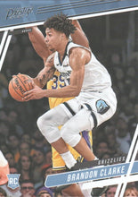 Load image into Gallery viewer, 2019-20 Panini Chronicles Basketball Cards #1-100: #58 Brandon Clarke RC - Memphis Grizzlies