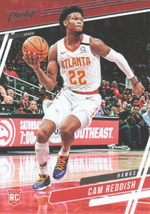 2019-20 Panini Chronicles Basketball Cards #1-100: #59 Cam Reddish RC - Atlanta Hawks