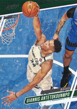 Load image into Gallery viewer, 2019-20 Panini Chronicles Basketball Cards #1-100: #62 Giannis Antetokounmpo  - Milwaukee Bucks