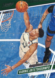 2019-20 Panini Chronicles Basketball Cards #1-100: #62 Giannis Antetokounmpo  - Milwaukee Bucks